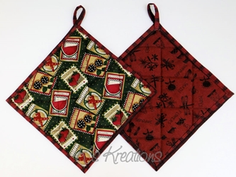 Seed Packet Pot Holders