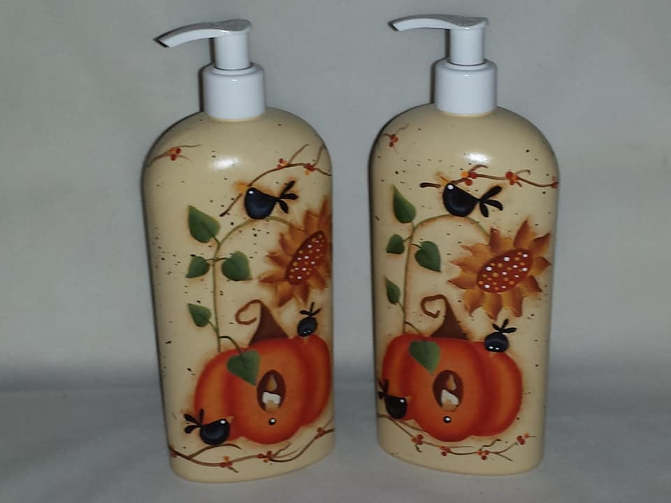 Fall Soap/Lotion Dispenser