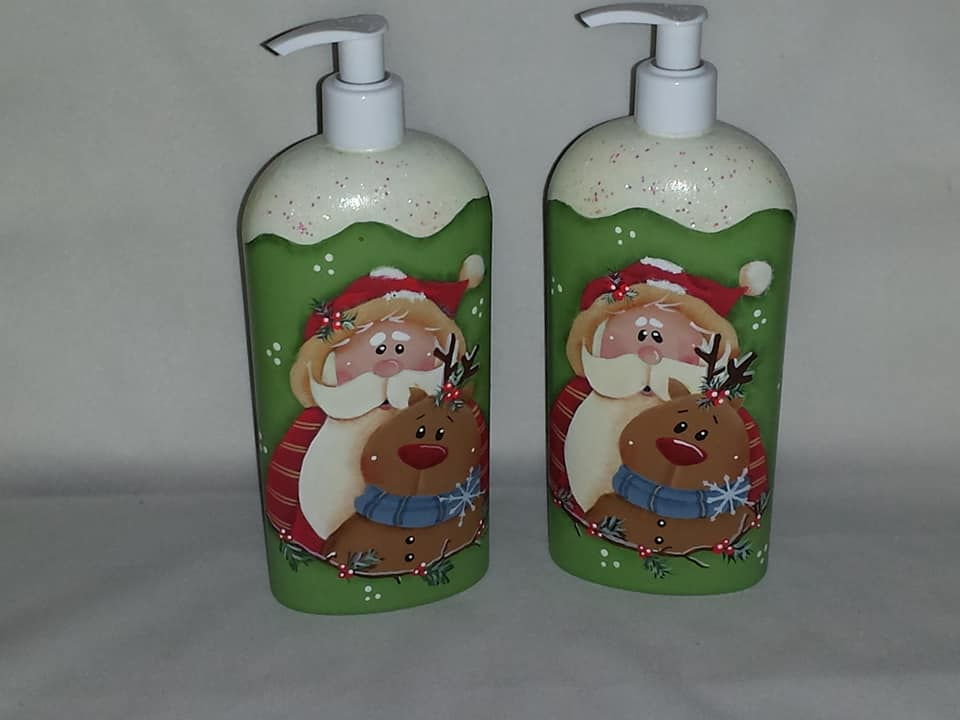 Santa Soap/Lotion Dispenser