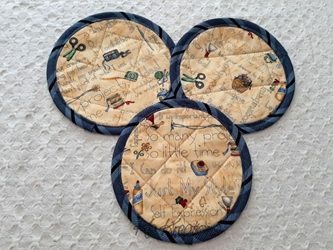 Sewing Coaster Mat